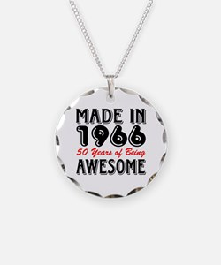 Made in 1966, 50 Years of Be Necklace Circle Charm