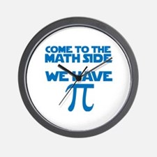 Cute Come to the dark side we have cookies Wall Clock