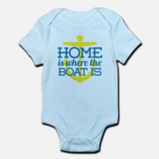 Home Is Where The Boat Is Body Suit