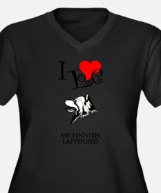 Finnish Lapphund Plus Size T-Shirt