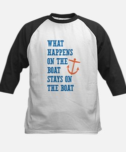 What Happens On The Boat Baseball Jersey