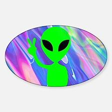 Unique Aliens Sticker (Oval)
