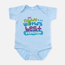 Kickboxer Gifts for Kids Infant Bodysuit