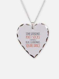 Cute Square dance Necklace