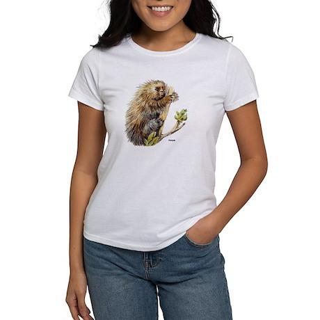 Porcupine (Front) Women's T-Shirt