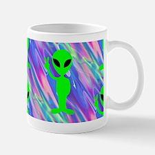 alien hologram Mugs