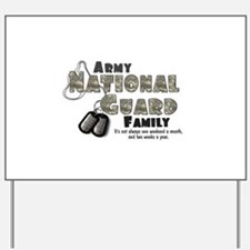 National Guard Family Yard Sign