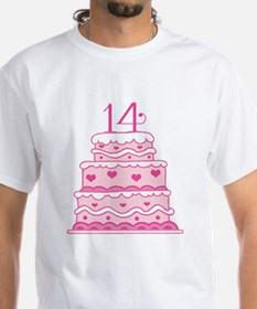 14th Anniversary Cake T-Shirt
