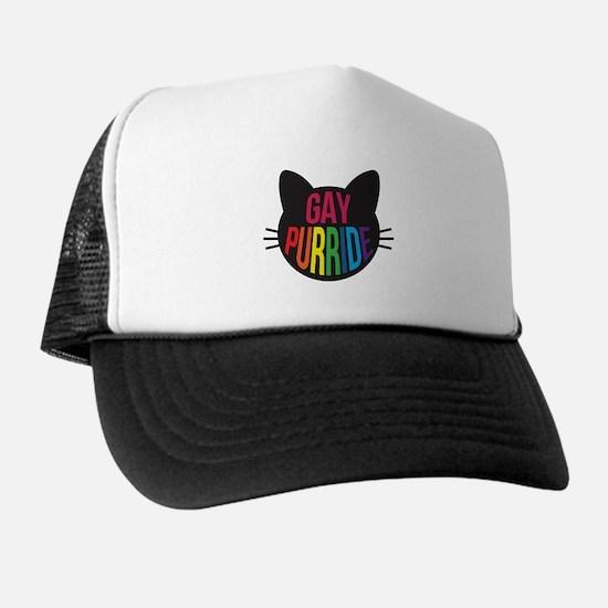 Gay Purride Trucker Hat