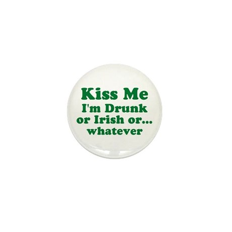 St. Patty's Day Mini Button