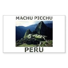 MACHU PICCHU, PERU Rectangle Decal