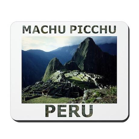 MACHU PICCHU, PERU Mousepad