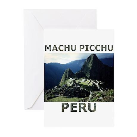 MACHU PICCHU, PERU Greeting Cards (Pk of 20)