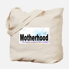 Paradise Lies At The Feet of The Mother Tote Bag