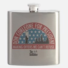 Don Corleone for President Flask