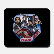 Team Captain America & Scarlet Witch - Mousepad