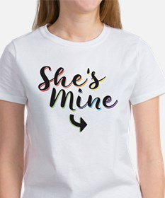 She's Mine - Gay Pride Women's T-Shirt