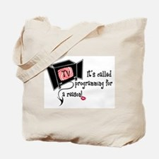 Evil TV! Tote Bag