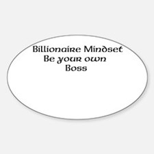 Billionaire Mindset Decal