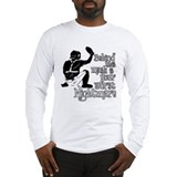 Baseball catcher Long Sleeve T-shirts