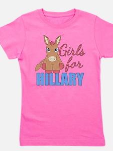 Cute Hillary clinton Girl's Tee