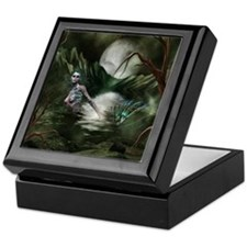 Cute The moon Keepsake Box