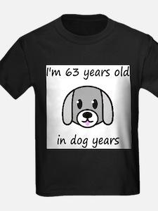 9 dog years 2 T-Shirt