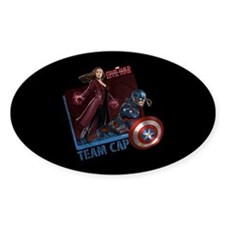 Captain America & Scarlet Witch Decal