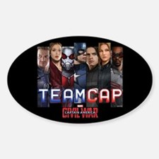Team Cap & Scarlet Witch Stripes Decal