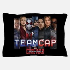 Team Cap & Scarlet Witch Stripes Pillow Case