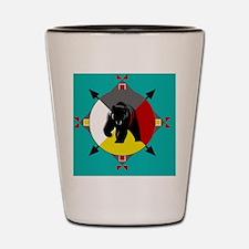 Unique Native americans Shot Glass