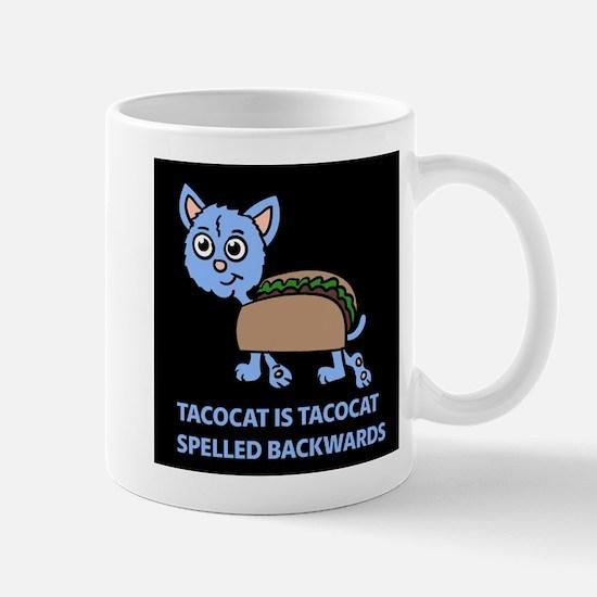Tacocat is Tacocat spelled backwards Mugs