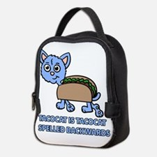 Tacocat is Tacocat spelled backwards Neoprene Lunc