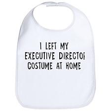 Left my Executive Director Bib