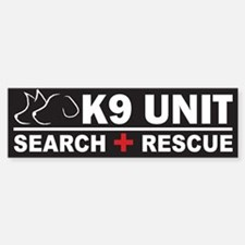 K9 Unit Search Rescue Magnet Bumper Bumper Bumper Sticker