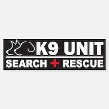 K9 Unit Search Rescue Magnet Bumper Car Car Sticker