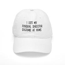 Left my Funeral Director Baseball Cap