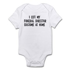 Left my Funeral Director Infant Bodysuit