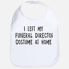 Left my Funeral Director Bib