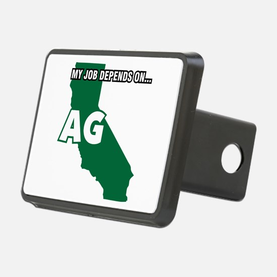 My Job Depends On Ag Hitch Cover