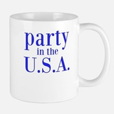 party in the USA Mugs