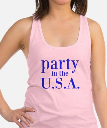 party in the USA Racerback Tank Top