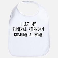 Left my Funeral Attendant Bib