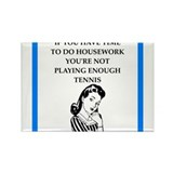 Tennis funny Magnets