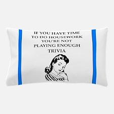 trivia Pillow Case