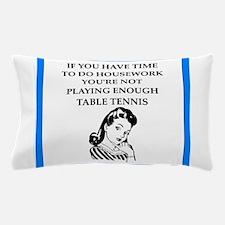 table tennis Pillow Case