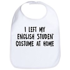Left my English Student Bib
