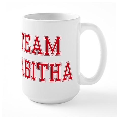 TEAM TABITHA Large Mug