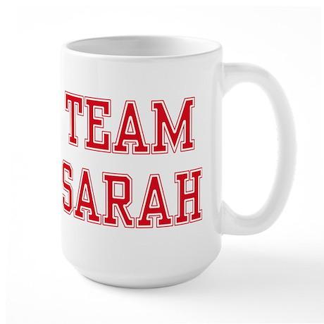 TEAM SARAH Large Mug
