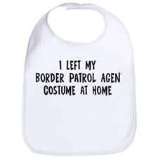Left my Border Patrol Agent Bib